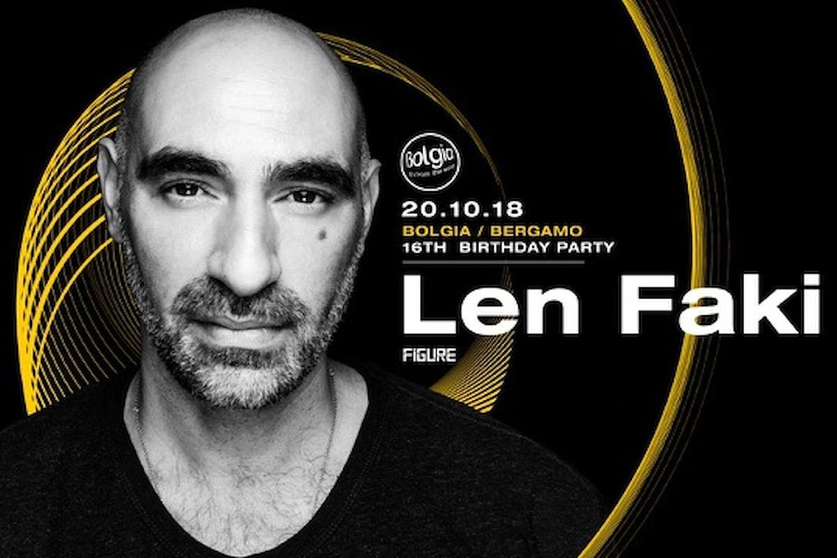 20 ottobre, Len Faki fa scatenare il Bolgia di Bergamo per il Party del 16esimo compleanno