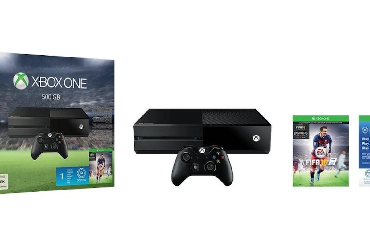 Amazon: Xbox one in edizione limitata in offerta + FIFA 2016 | Surface Phone Italia