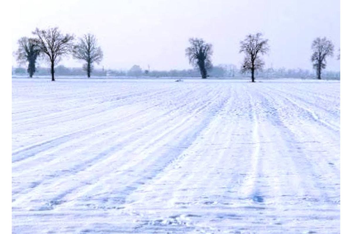 Da giovedì le prime nevicate anche in pianura a partire dal nord ovest