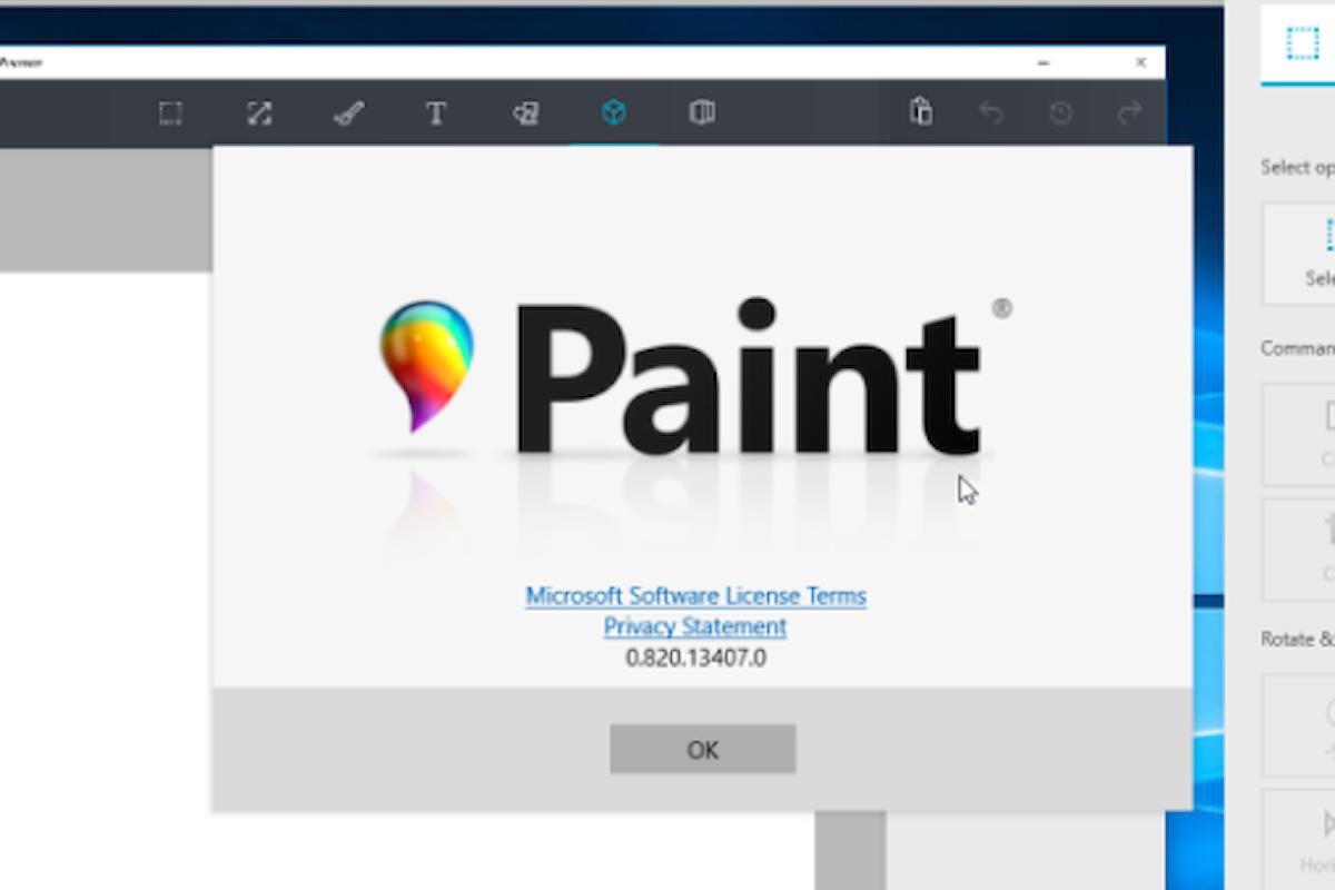 Paint: aggiornamento disponibile con l'Anniversary update | Surface Phone Italia