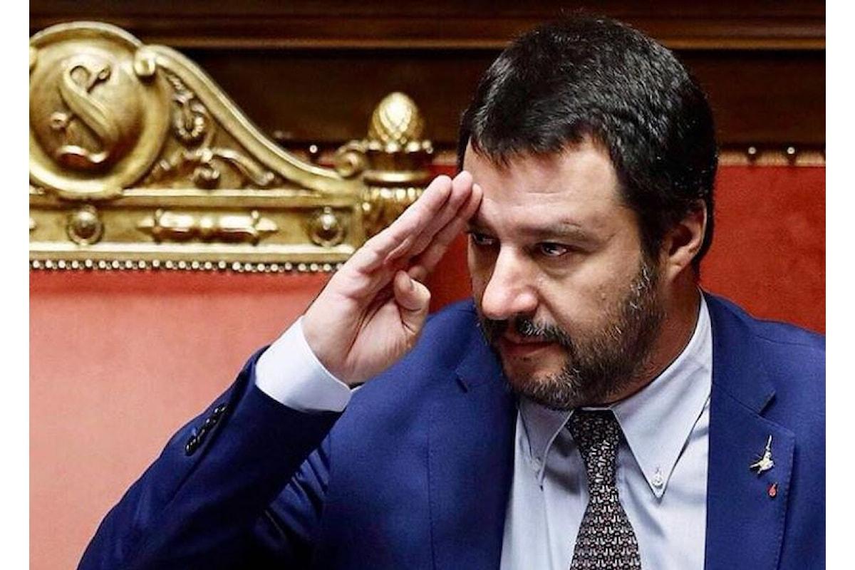 Il tema del bimbo del prossimo ventennio: Salvini è un uomo saggio, simpatico e gentile