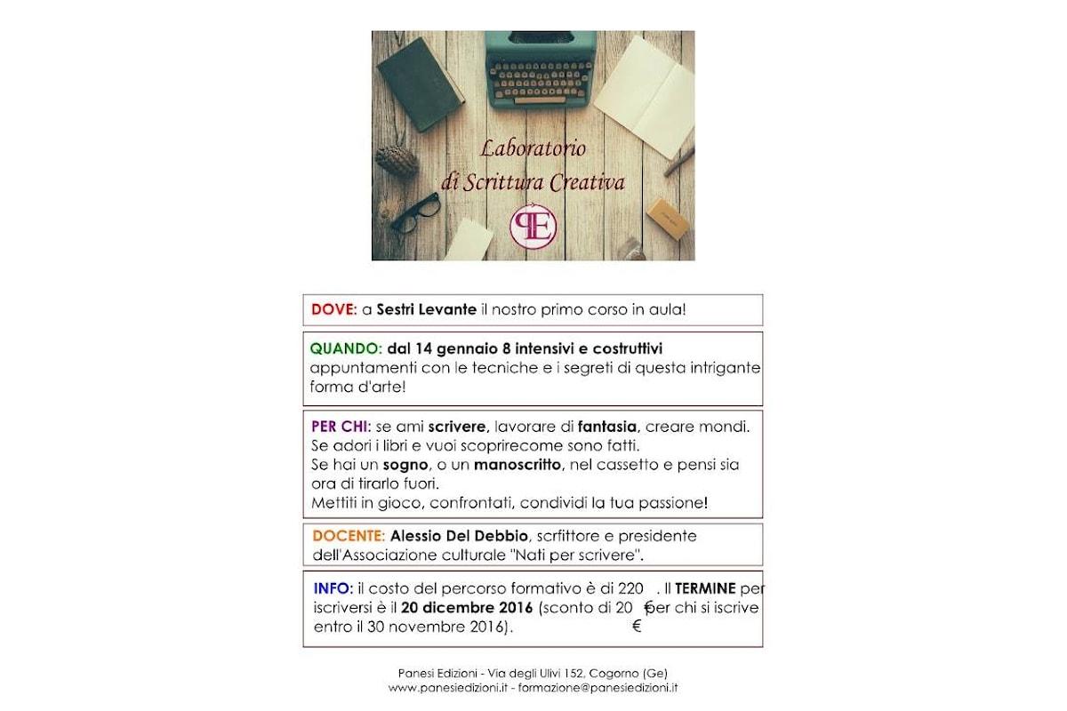Laboratorio di Scrittura Creativa a Sestri Levante per Panesi Edizioni