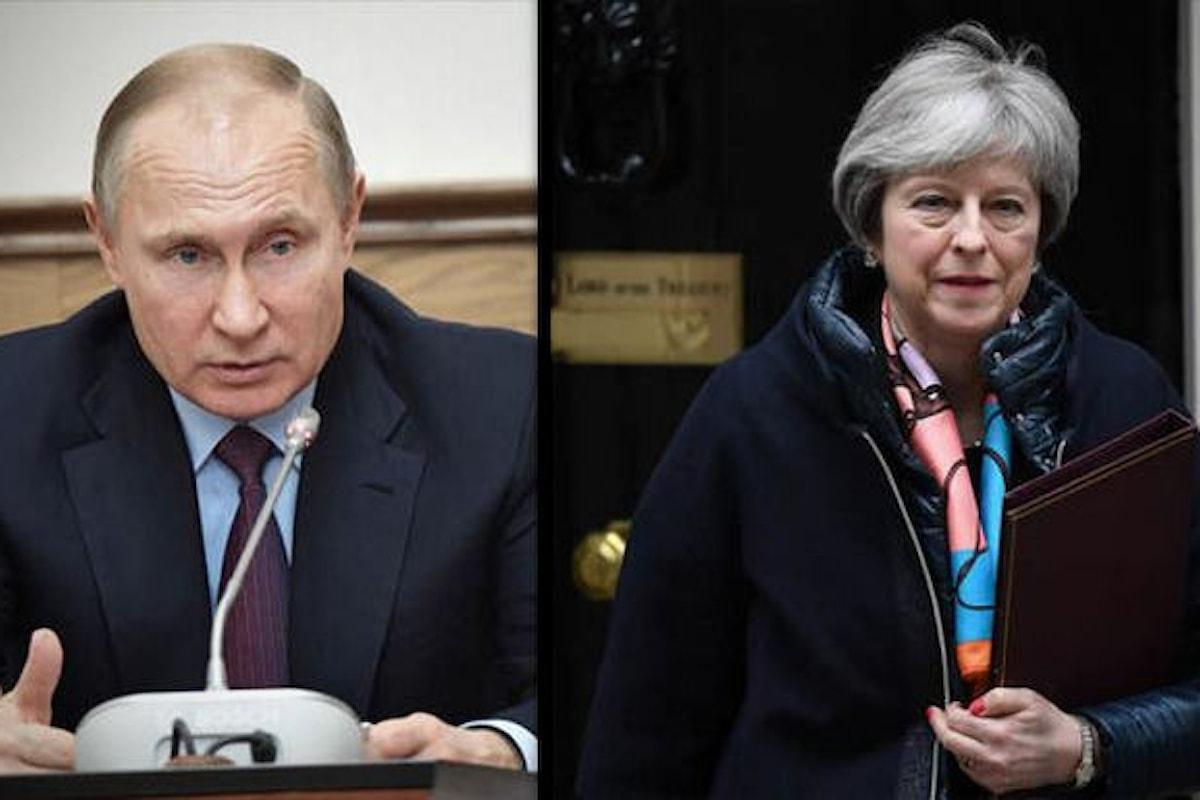 È arrivata la ritorsione di Mosca: espulsi 23 diplomatici britannici