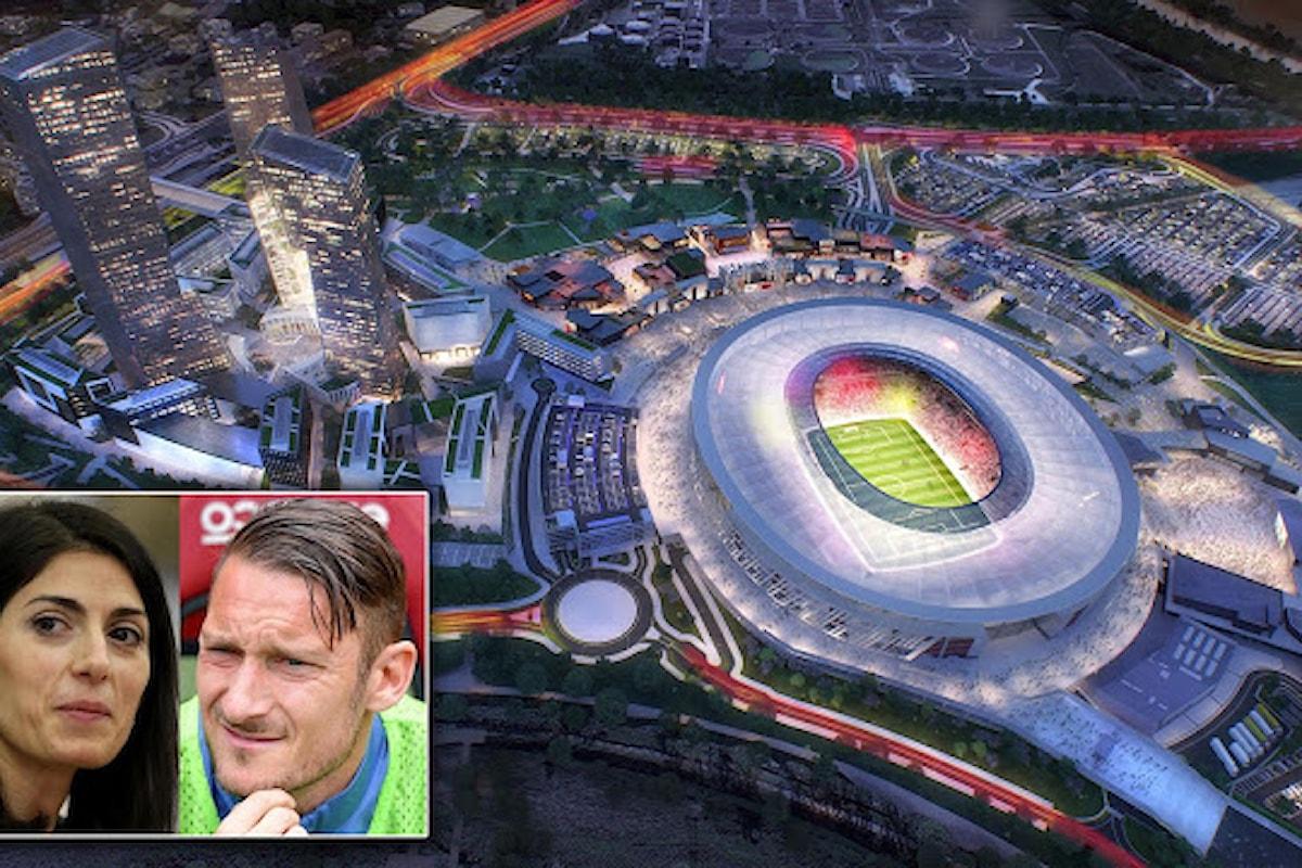 Raggi: Non c'è nessun accordo per la Stadio. Giornali inventori di notizie