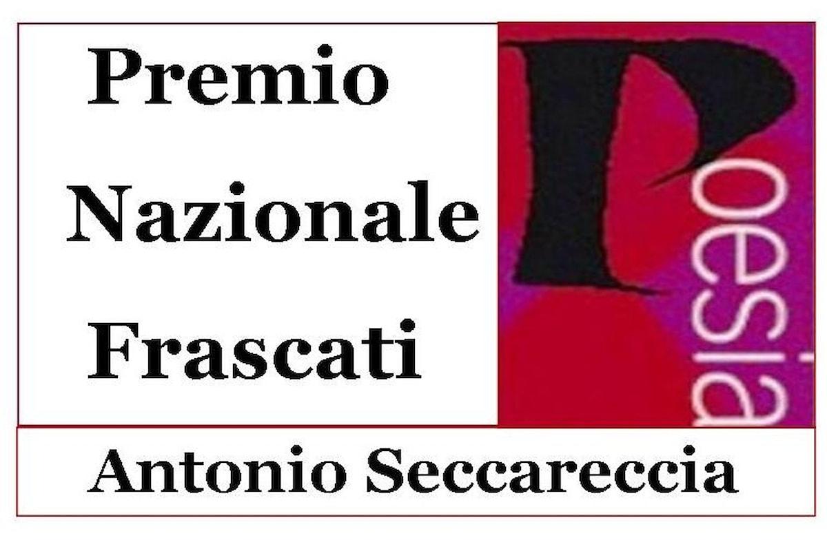 58.ma edizione del Premio Nazionale Frascati Poesia Antonio Seccareccia
