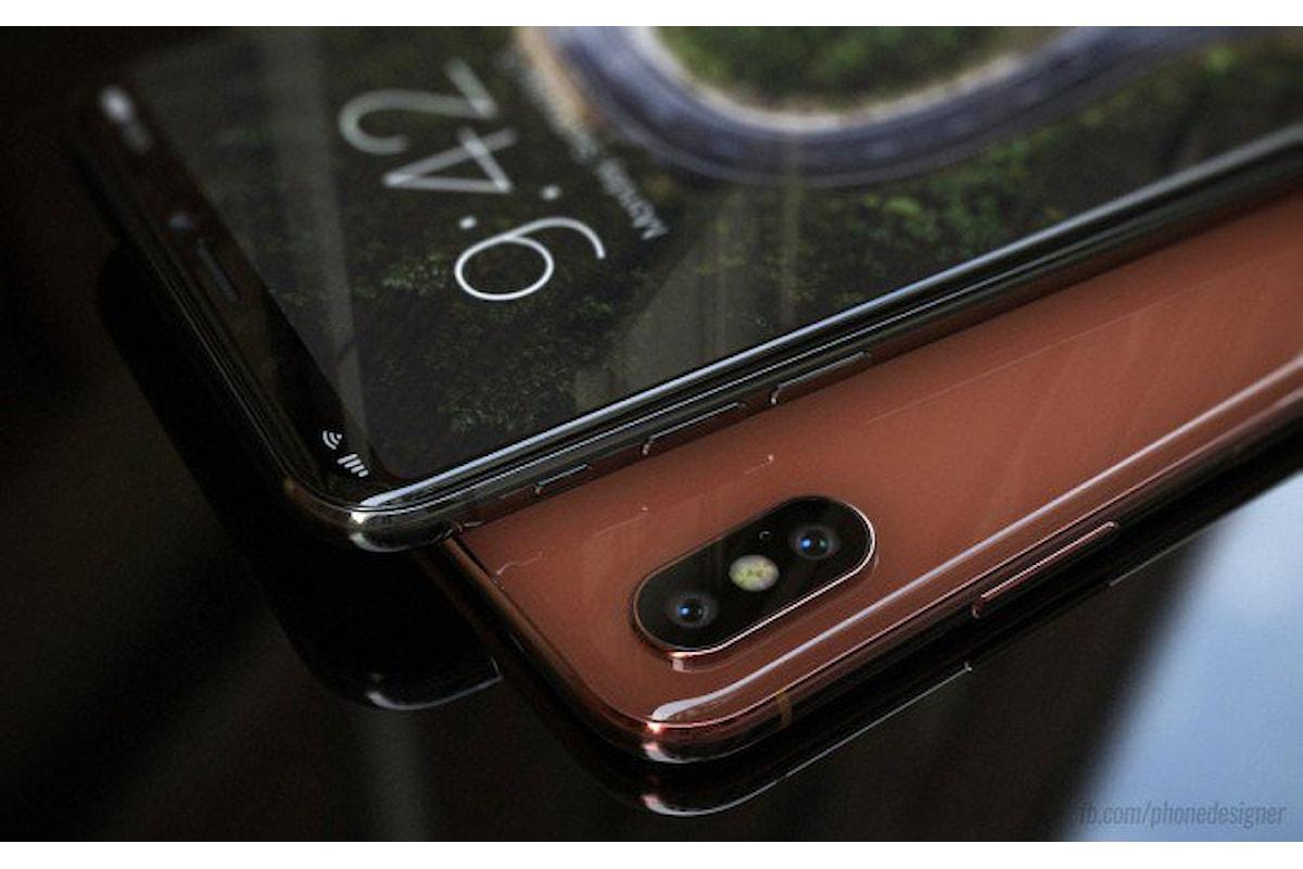 Apple iPhone 8, nuove immagini rendering ne anticipano il design