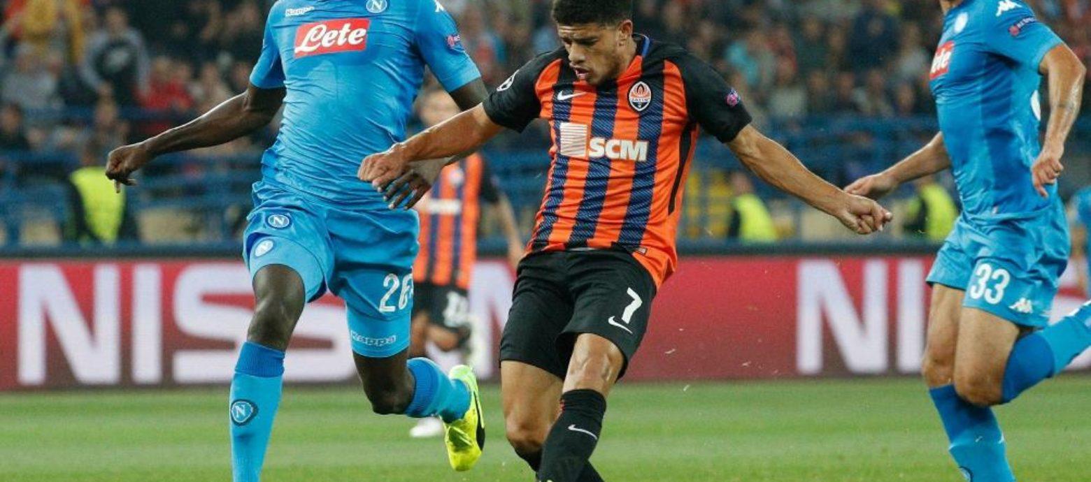 Champions League, lo Shakhtar Donetsk ridimensiona il Napoli