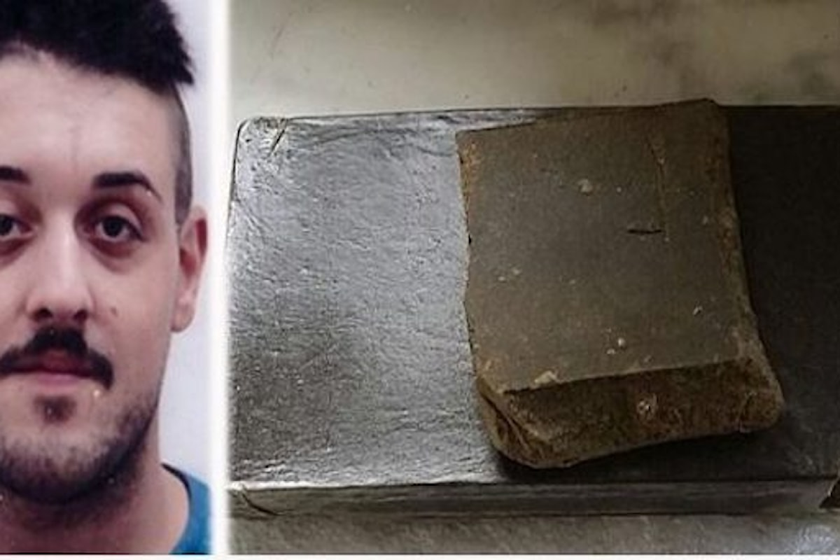 Spaccio di droga, in manette 22enne nel salernitano
