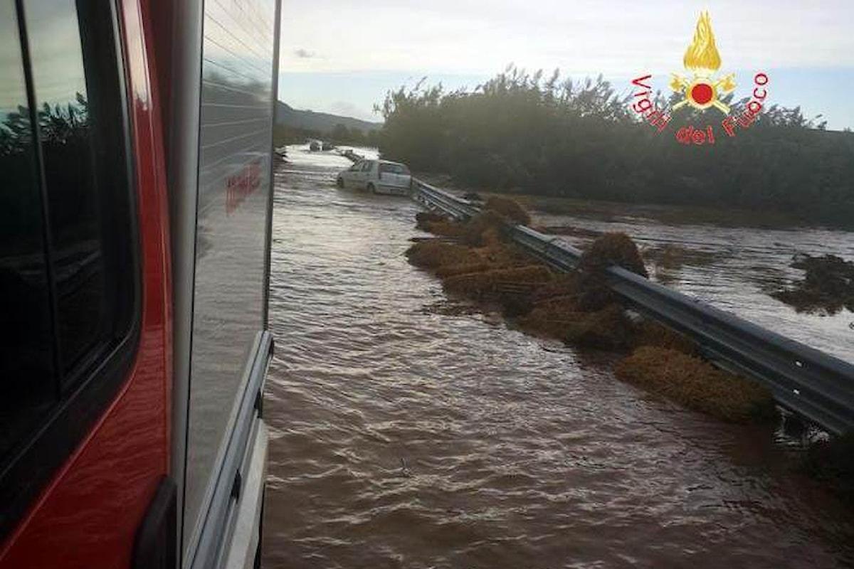 La Calabria ionica alla prese con forti piogge che hanno causato la morte di due persone