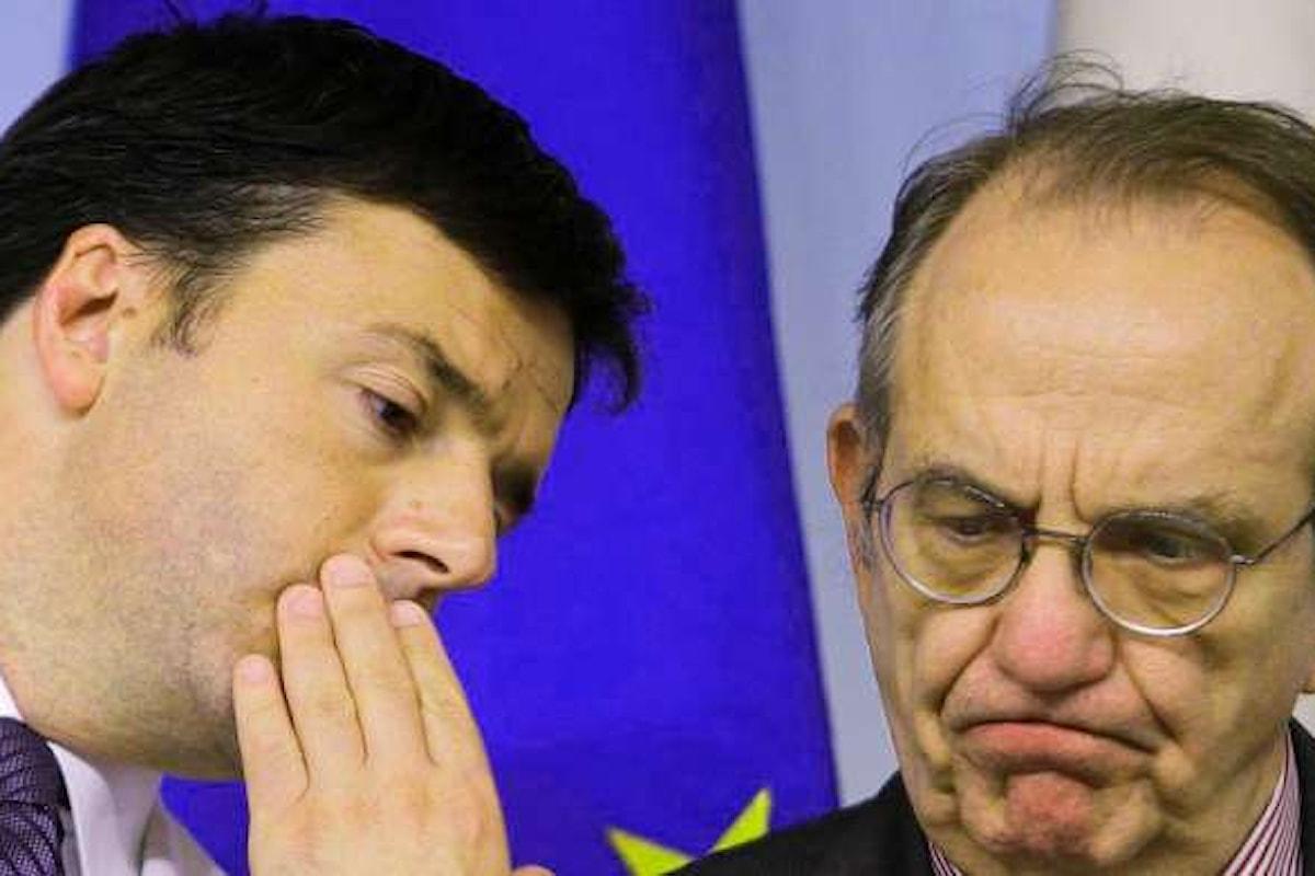 Renzi e Padoan hanno previsto il PIL 2016 dell'Italia: +1,2%