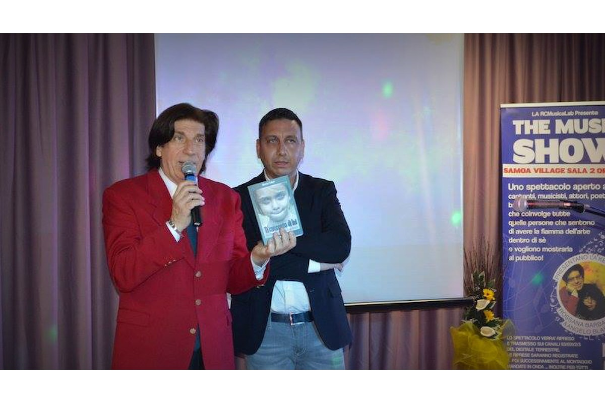 Il Presidente della Aster Academy e il cantautore LArtefice ospiti al The Music Show