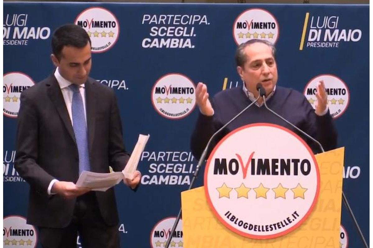 I 5 Stelle presentano i candidati normali dell'uninominale per le politiche 2018