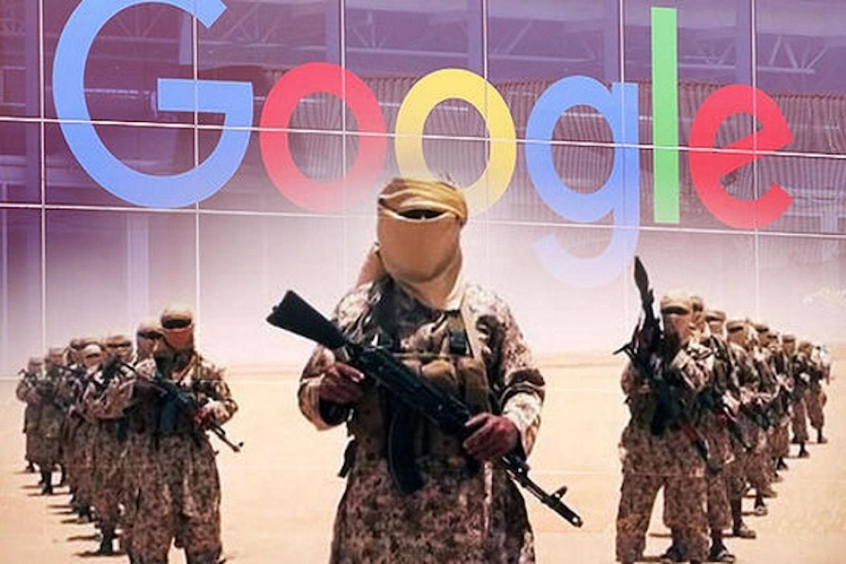 Google in prima linea contro l'Isis