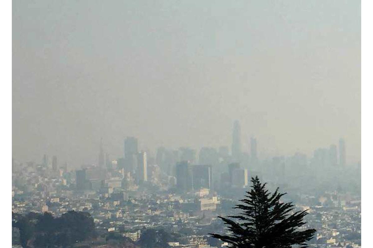 Gli incendi nella Napa Valley hanno causato un inquinamento senza precedenti