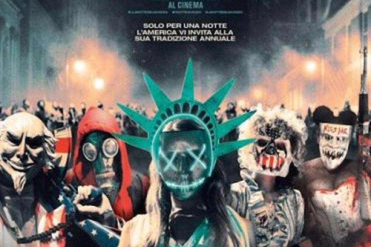 Da oggi al cinema l'horror LA NOTTE DEL GIUDIZIO – ELECTION YEAR