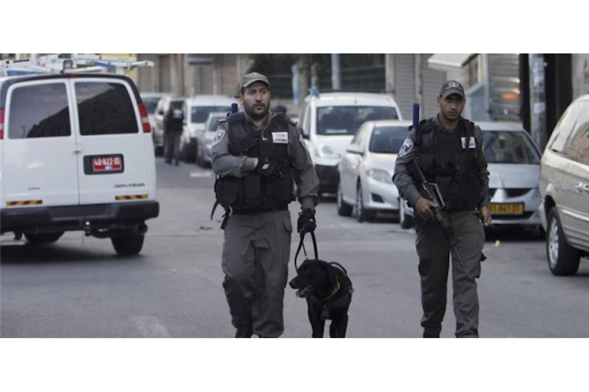 Two Palestinian suspects shot dead by police after injuring one person in latest string of violence.