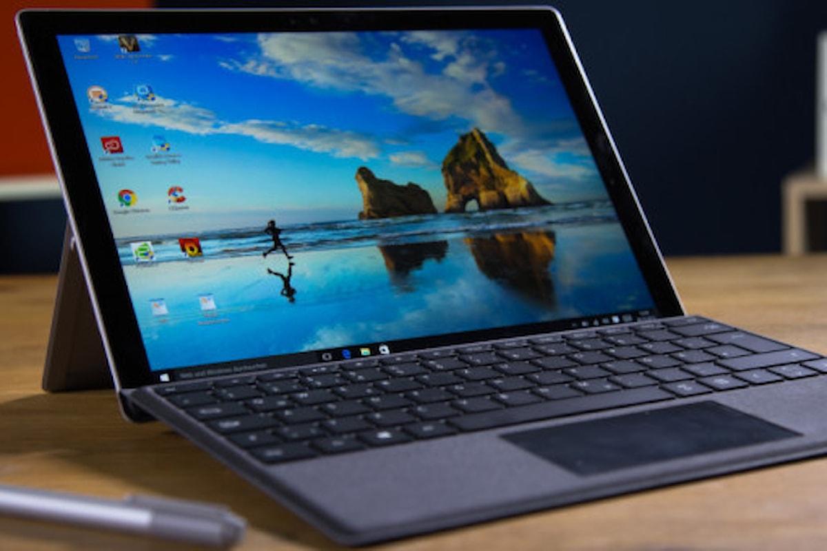 Surface Pro 5 presentato a breve quest'anno?