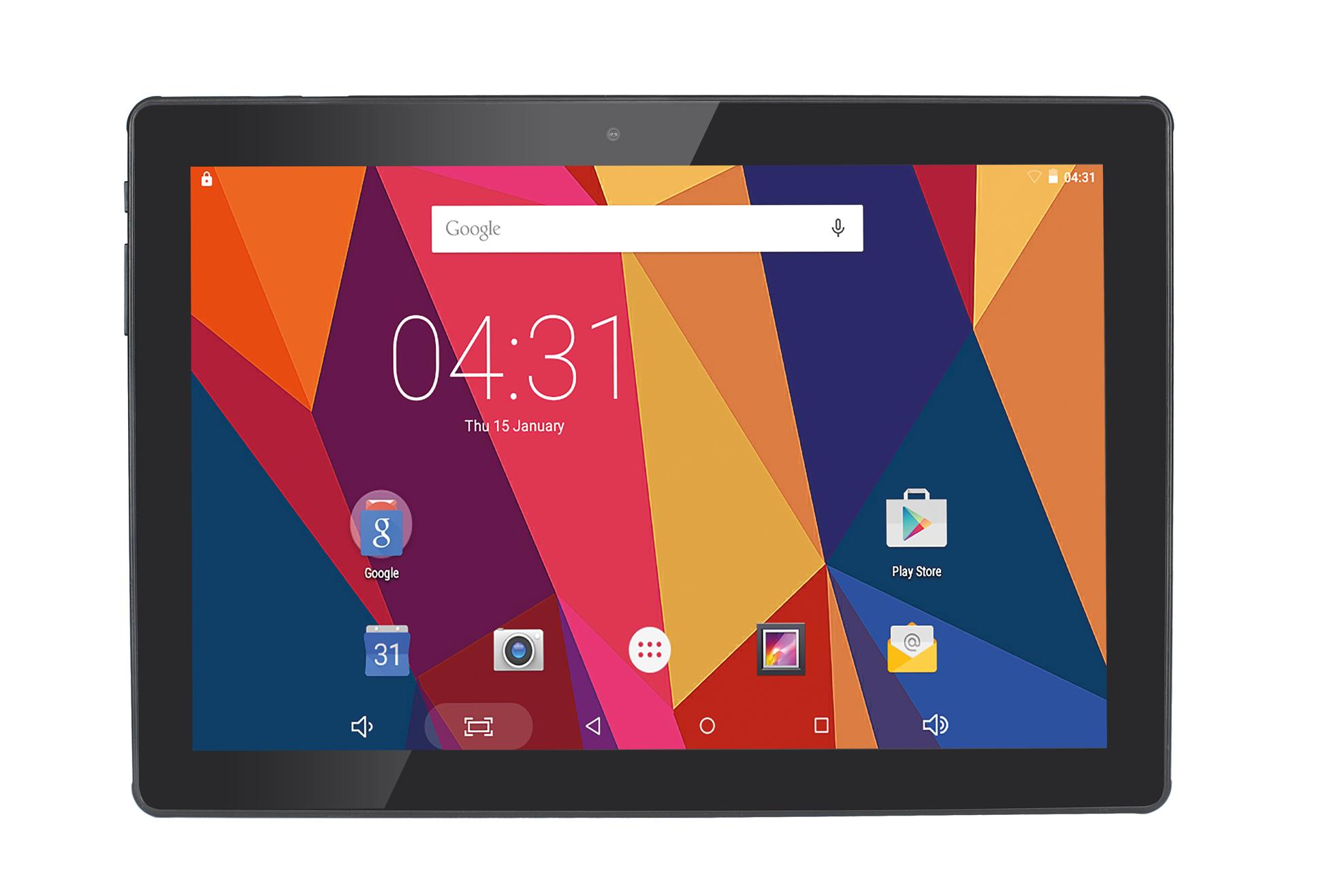 Hannspree Tablet Hercules 101 la soluzione ideale di mobile computing e d'intrattenimento, prestante ed ad un prezzo accessibile
