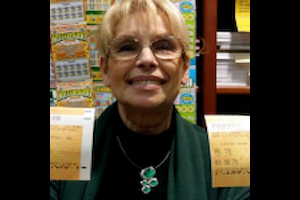 Donna di Grosseto raddoppia la vincita al Lotto 'per errore'