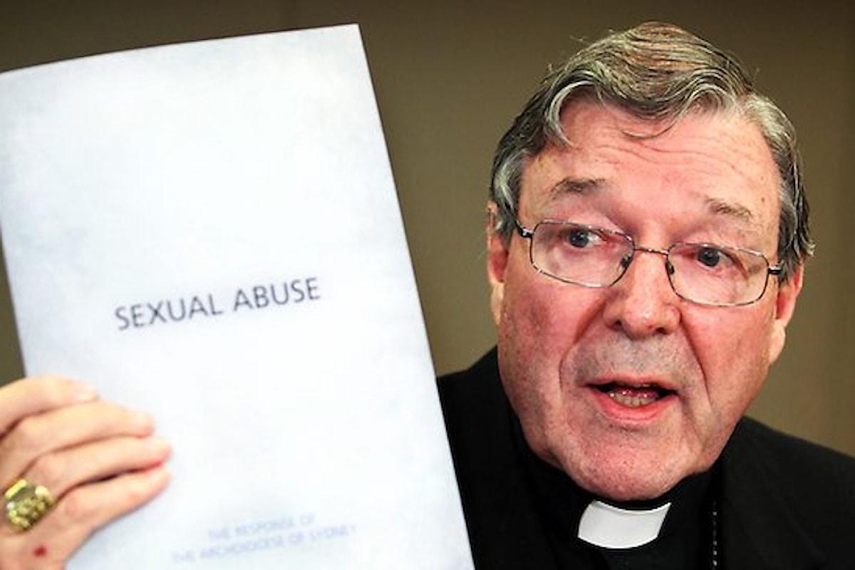 Pedofilia. Polizia australiana: nuove accuse a Pell