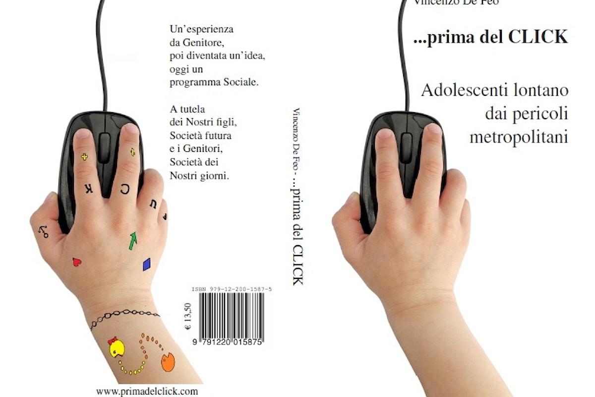 10/11 Teatro7 Lab (Milano) presenta Prima del click, il libro sul cyberbullismo scritto da Vincenzo De Feo
