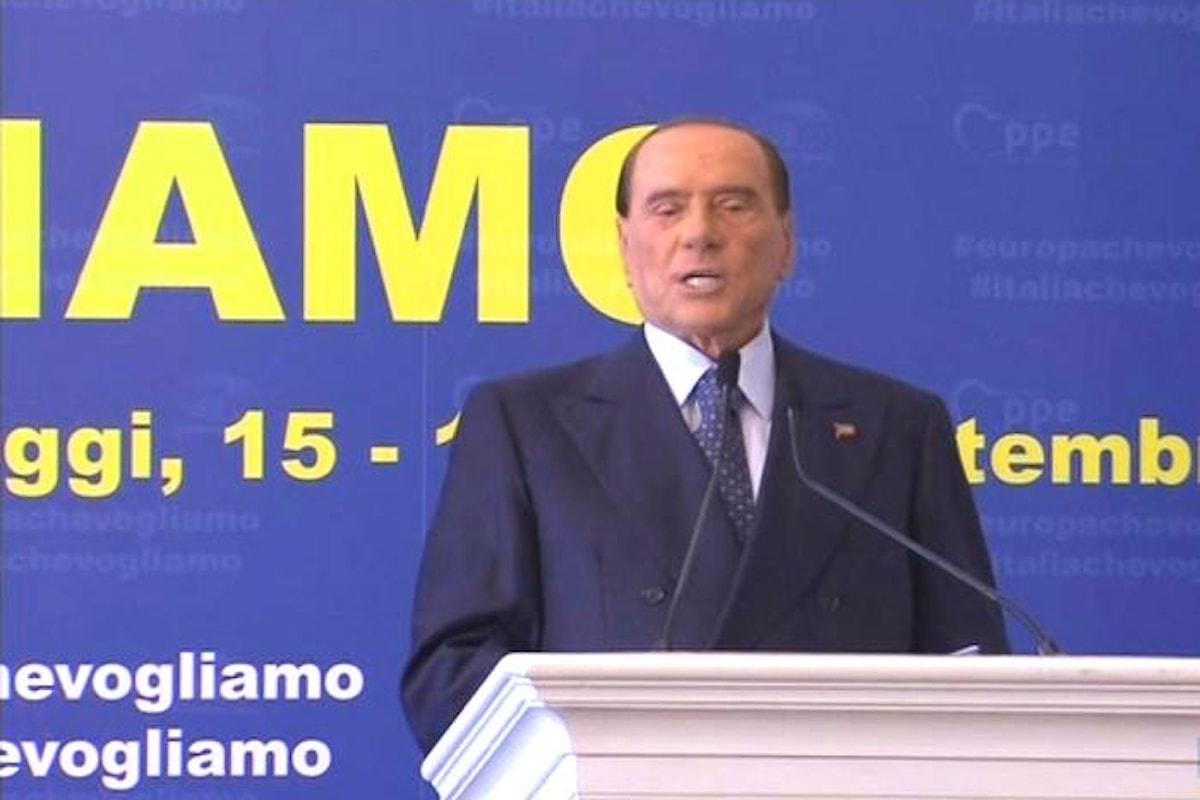 Salvini a Pontida, Berlusconi a Fiuggi