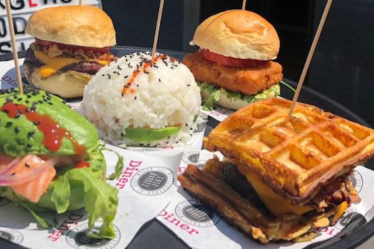 "East Market Diner torna con ""5 Burgers"""