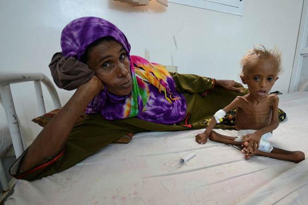 In occasione della Giornata mondiale dell'alimentazione, Save the Children ricorda la carestia in Yemen