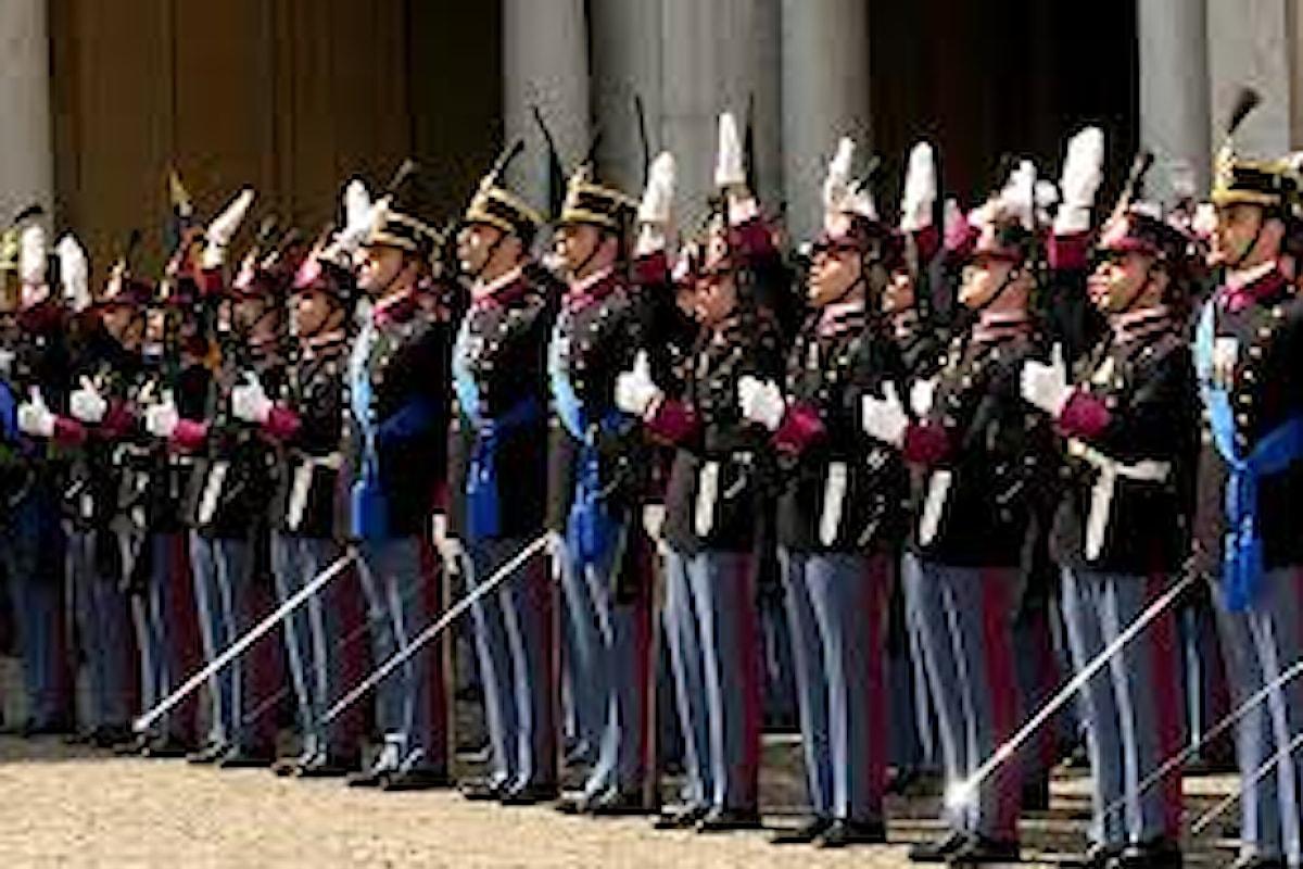 Modena, gli Allievi dell'Accademia Militare di Modena hanno giurato