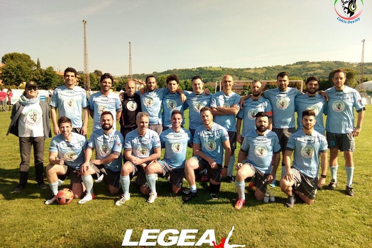 11/6 Nazionale Dj in campo per beneficenza a San Damiano (Brugherio, MB) contro la USD S. Albino S. Damiano