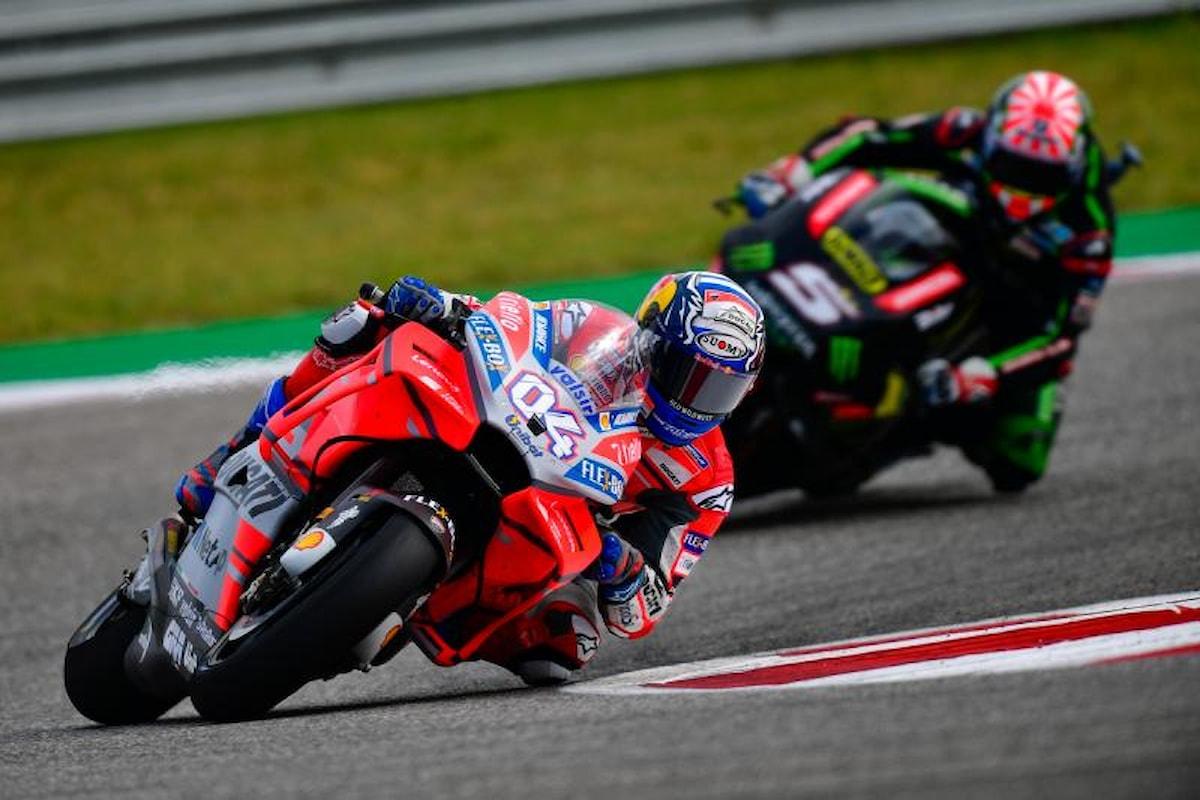 E intanto Dovizioso svetta nella classifica MotoGP