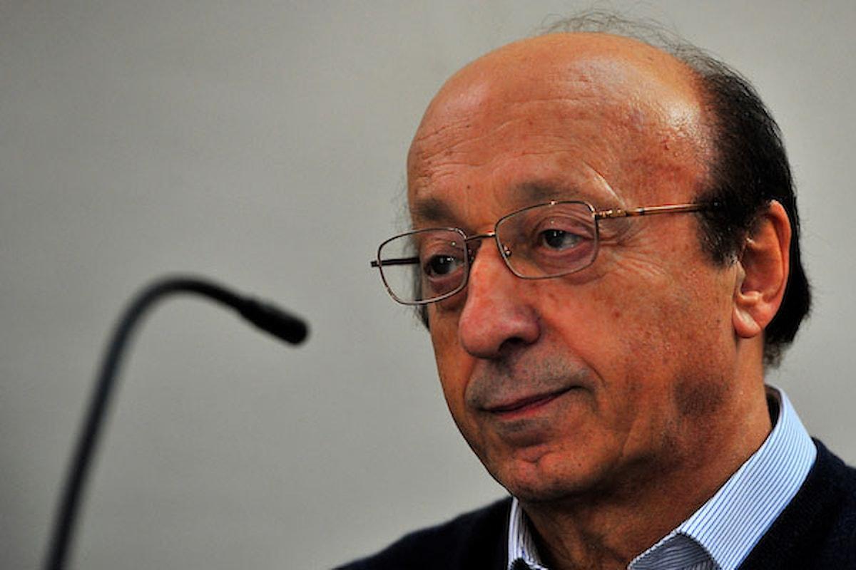 Moggi teme l'Inter per la sfida scudetto contro la Juventus