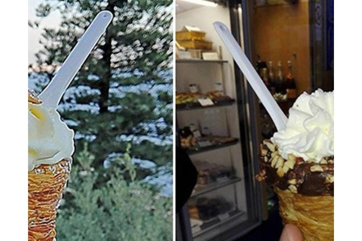 Napoli, ecco la sfogliatella riccia con gelato