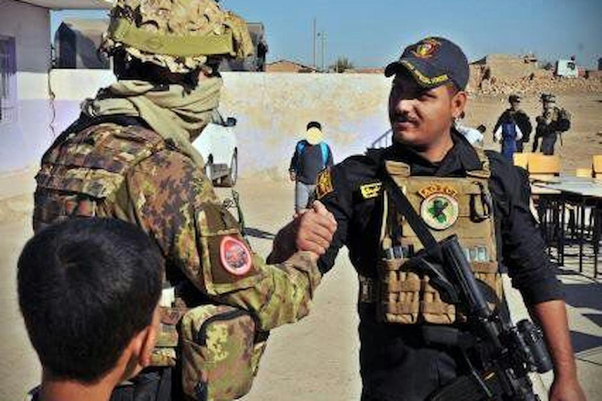 Iraq, Pinotti: Orgogliosi dei nostri militari che hanno contribuito alla liberazione dell'Iraq