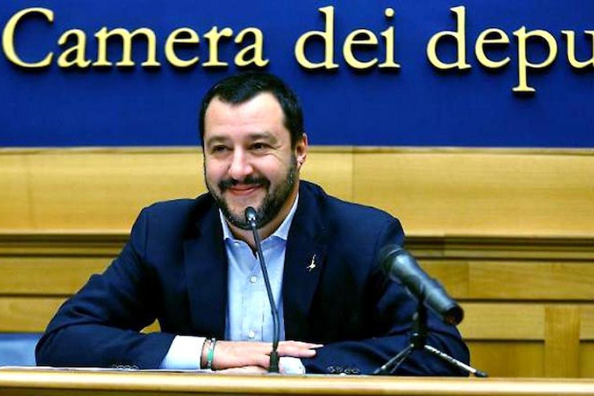 Salvini: L'Italia donerà altre 12 motovedette alla Libia per continuare a proteggere vite nel Mediterraneo