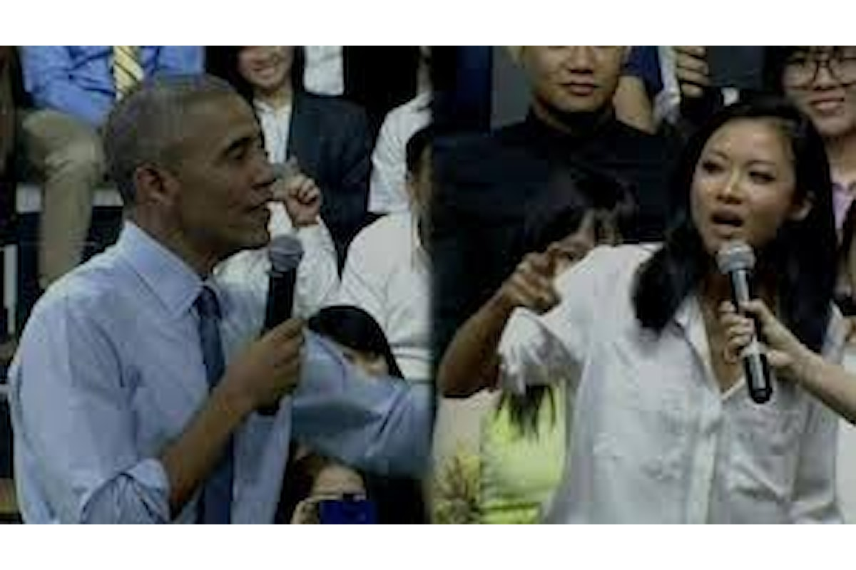 Obama duetta con una rapper vietnamita