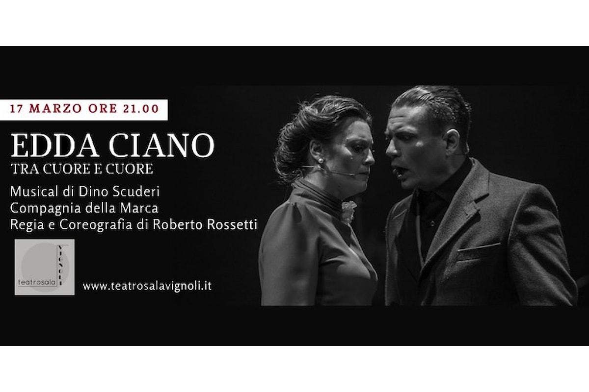 Edda Ciano: tra cuore e cuore. Teatro Cyrano, 17 marzo 2018