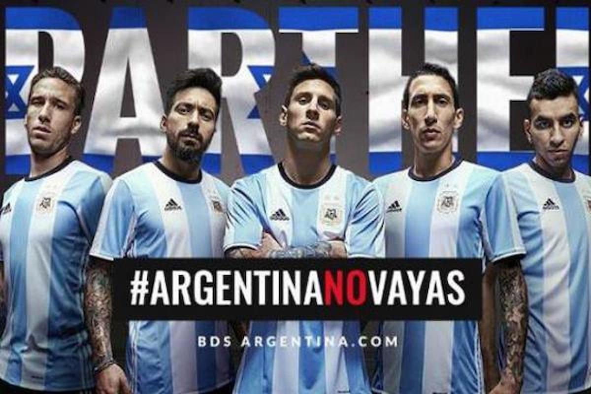 Annullata l'amichevole di calcio tra Israele e Argentina, si doveva giocare a Gerusalemme