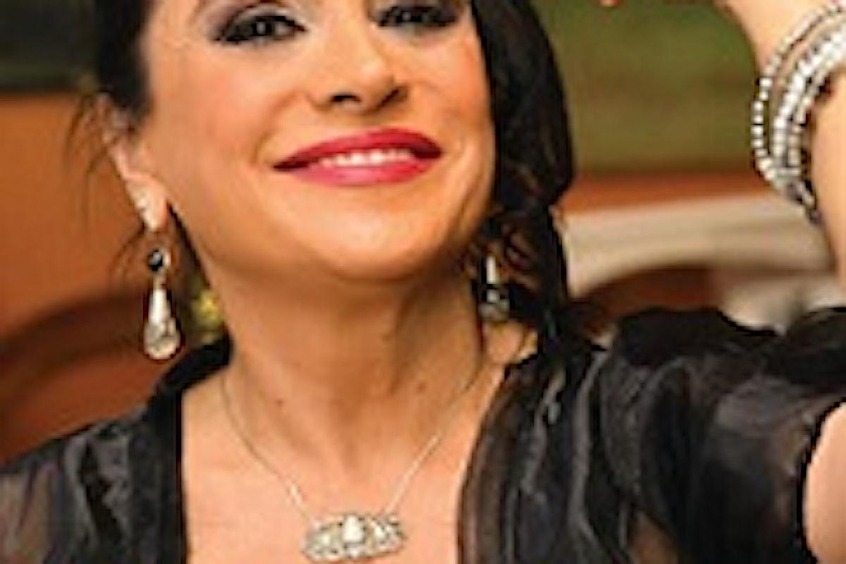Guia Jelo, con tutta la sua passionalità siciliana presenta il suo libro  Donna Giudizia