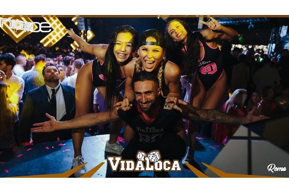 Vida Loca fa muovere Varese, Bologna, Civitanova Marche, Bari, Mantova, Riccione, Novara e Ravenna dal 12 al 27 ottobre '18