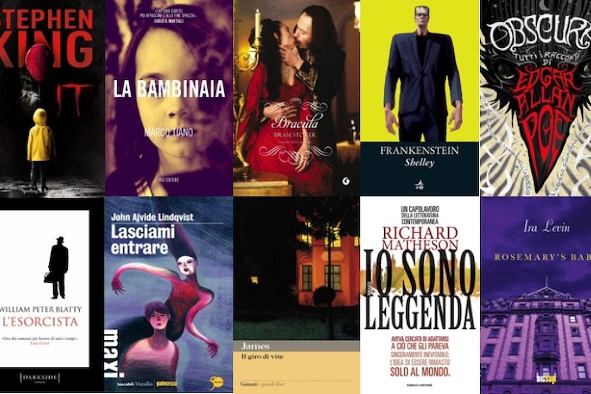 I 10 migliori libri horror di sempre