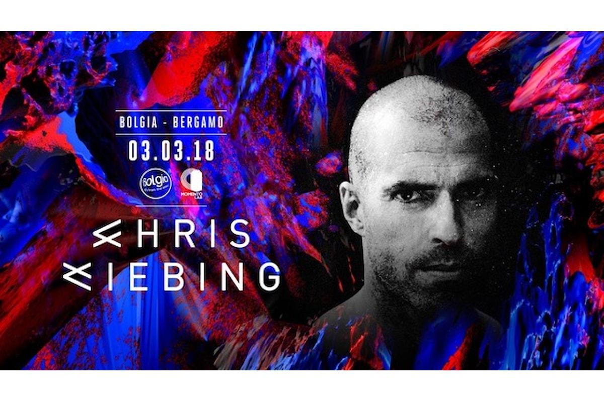 3 marzo, Chris Liebing al Bolgia di Bergamo