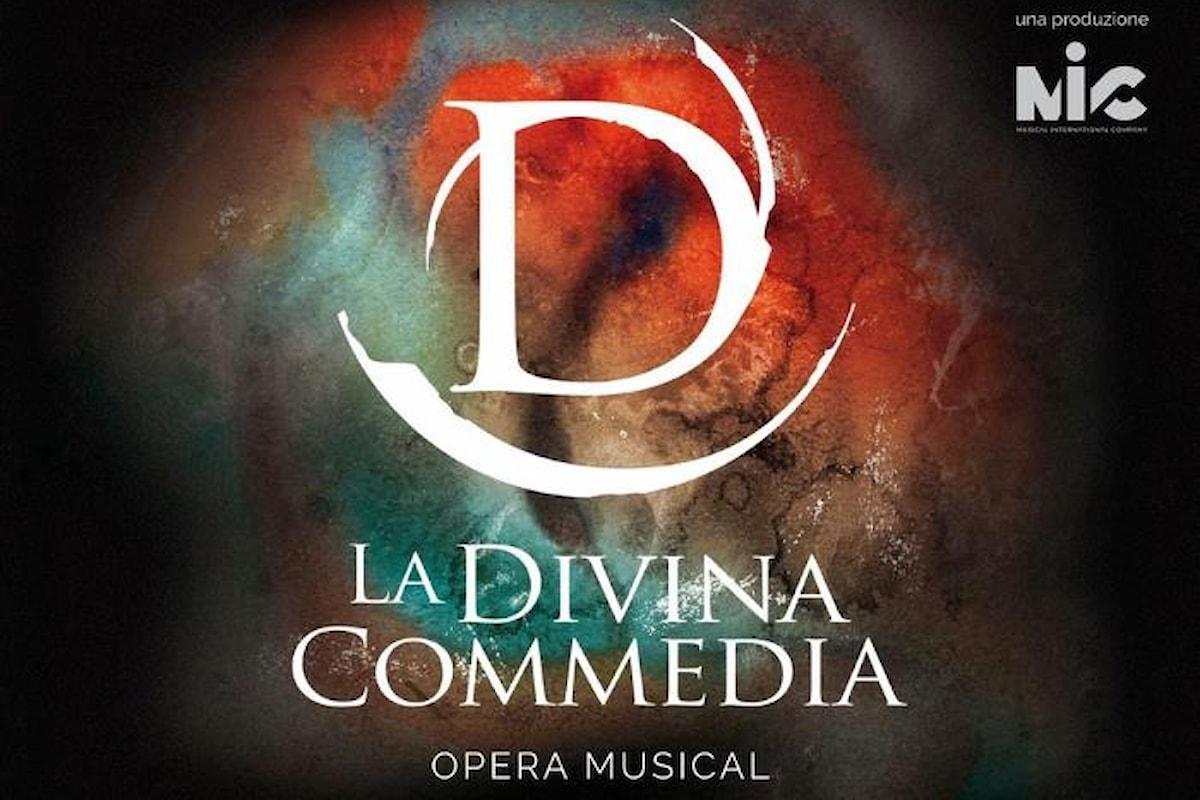 Dal 19 al 24 gennaio La Divina Commedia Opera Musical al Teatro Brancaccio di Roma