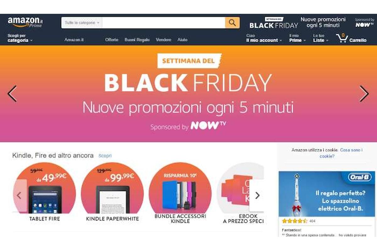 Il venerdì nero 2016 è stato il giorno più rosa di sempre per Amazon.it