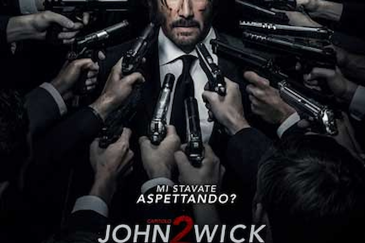 Dal 16 marzo al cinema il film JOHN WICK Capitolo 2