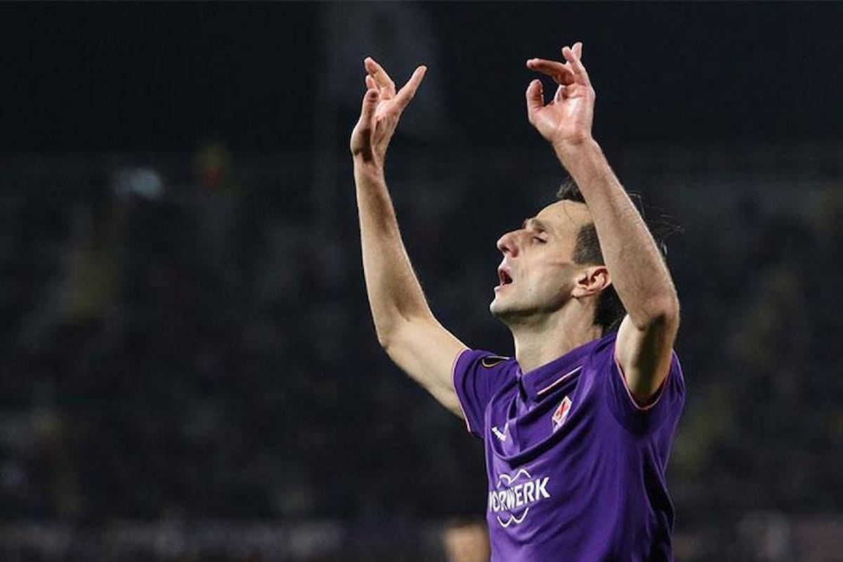 Derby di mercato tra Milan e Inter per Kalinic della Fiorentina