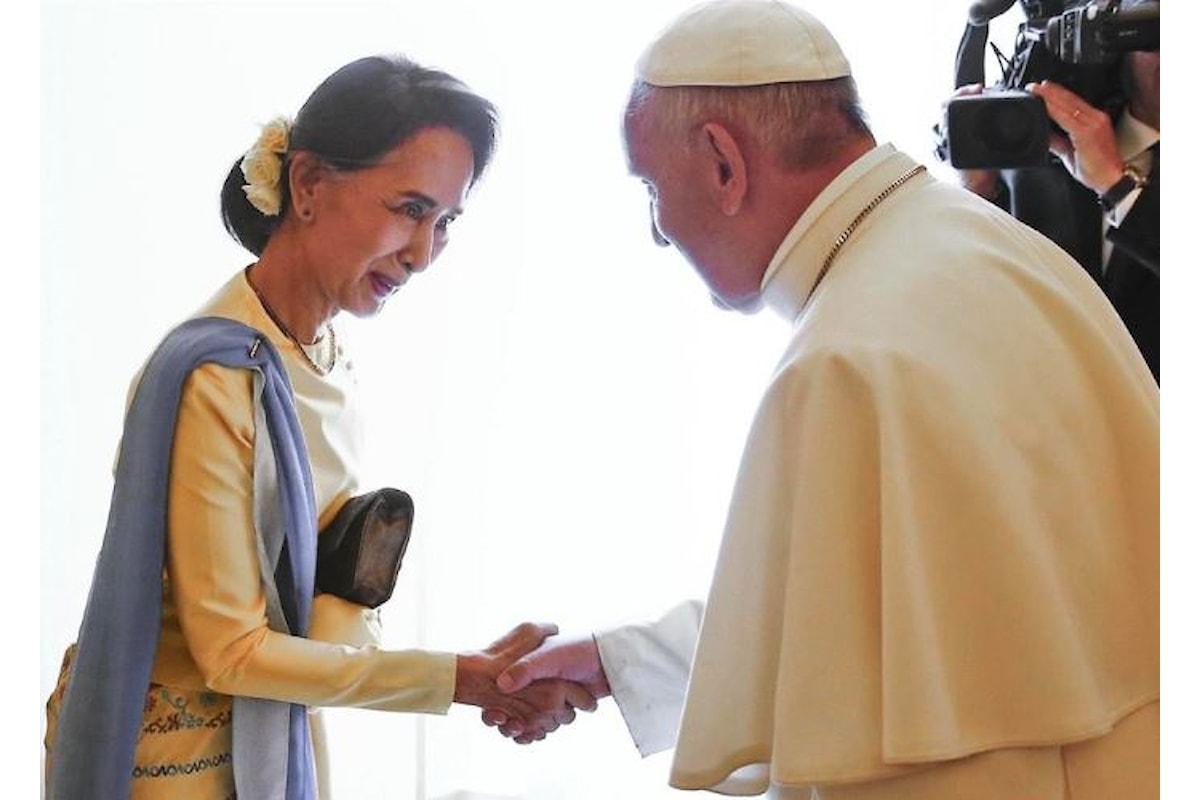 Il programma del viaggio del Papa in Myanmar e Bangladesh