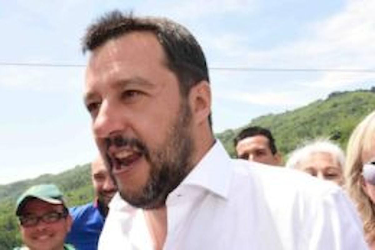 Amministrative 2017: Matteo Salvini contro Renzi