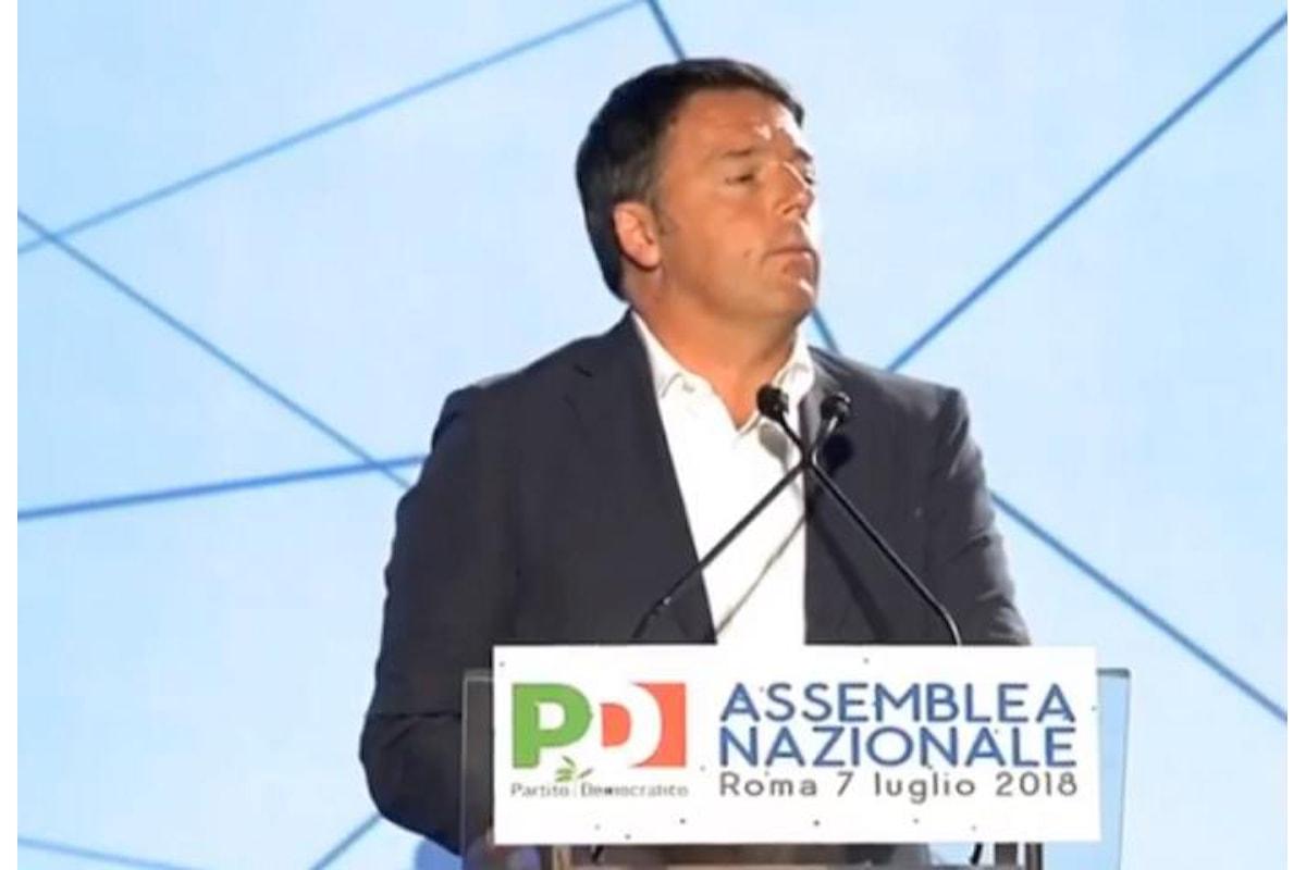 L'Assemblea nazionale del PD elegge Martina segretario ma è ancora Renzi a guidare il partito