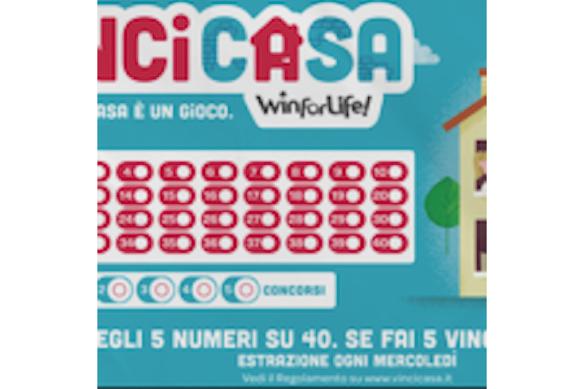 Parma, vinta una casa (quasi) per caso con Sisal VinciCasa